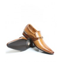 Sage Leather Formal Shoes For Men Brown (5738)