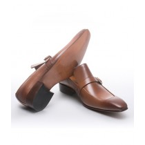 Sage Leather Formal Shoes For Men Mustard (1607)