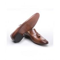 Sage Leather Formal Shoes For Men Mustard (1627)
