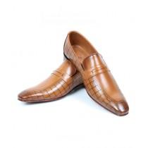 Sage Leather Formal Shoes For Men Mustard (210180)