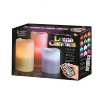 Saimamart Luma Color Changing Candles With Remote