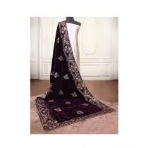 Sajeela Pk Embroidered Velvet Shawl For Women (0002)