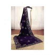 Sajeela Pk Embroidered Velvet Shawl For Women (0003)