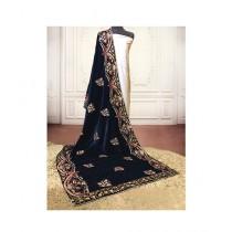 Sajeela Pk Embroidered Velvet Shawl For Women (0006)