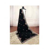Sajeela Pk Embroidered Velvet Shawl For Women (0007)