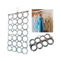 Sale Out 28 Rings Clothes Organizer Hook Multi Color