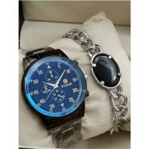 Sale Out Chain Watch With Bracelet For Men (0107)