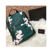Sale Out Floral Backpack For Women Green