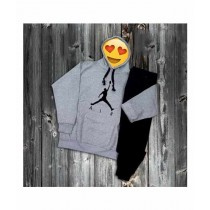 Sale Out Printed Track Suit For Men Grey (0076)