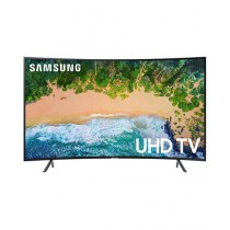 "Samsung 65"" 4K Smart Curved UHD LED TV (65NU7300) - Without Warranty"