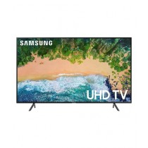 "Samsung 65"" 4K UHD Smart LED TV (65NU7100) - Without Warranty"