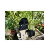 Saqaafatt Ladies Slippers Black (BL-01)