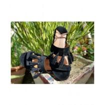 Saqaafatt Ladies Slippers Black (BL-02)