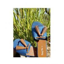 Saqaafatt Ladies Slippers Blue