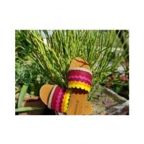 Saqaafatt Ladies Slippers Multicolor