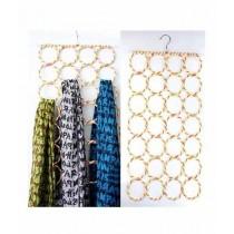 Sasti Market 28 Rings Clothes Organizer Hook Multi Color