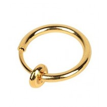 Scenic Accessories Ear / Nose Ring Alloy Gold