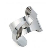 Scenic Accessories Fashionable Cuff Bracelet for Women - Silver