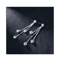 Scenic Accessories Rhinestone Tassel Women's Crystal Earrings