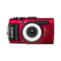 Olympus TG-4 Waterproof Digital Camera Red