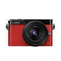 Panasonic Lumix DMC-GM5 Digital Mirrorless Camera Red