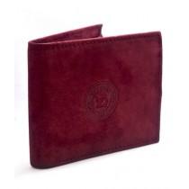 Senupra Leather Wallet For Men Maroon