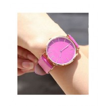Shah Traders Changing Watch For Unisex - Pink