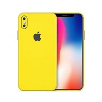 Shock Doctor Full Body Matte Yellow Skin Sticker For iPhone