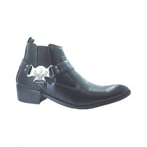 Shoe Club Formal Long Boot For Men Black