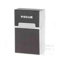 Shop Zone Aluminum Metal Cigarette Case Silver