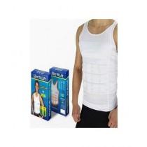Shop Zone Slim N Lift Vest For Men White