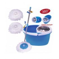 Rubian Magic Spin Mop 360 Steel Sieve Blue