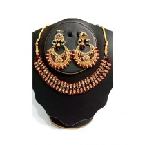 Shopping Mall Jewellery Set For Women Red