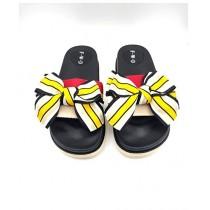 Shoppinggaardi Classic bow Slides Slippers For Women (SG-FD4)