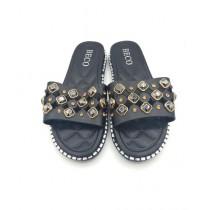 Shoppinggaardi Diamond Beads Slippers For Women (SG-BE3)