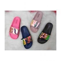 Shoppinggaardi Holographic Slides Slippers For Women (SG-WF2)