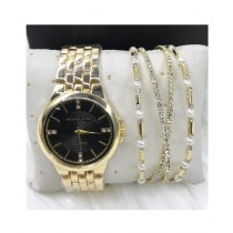 Shoppinggaardi Watch & Bracelet For Women (0030)