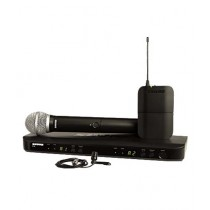 Shure Dual Channel Combo Wireless System (BLX1288/CVL)