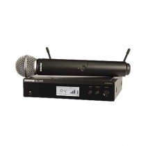 Shure Handheld Wireless System (BLX24R/SM58)