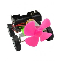 Silver Stream Diy Learning Wind Power Car Stem Toy For Kids
