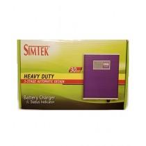 SIMTEK Automatic Battery Charger 12V/30 Ampere