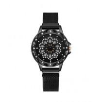 Singaar Collection Spinner Watch For Women Black
