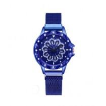 Singaar Collection Spinner Watch For Women Blue