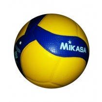Sports Time Hand Stitched Volleyball Yellow/Blue (0083)