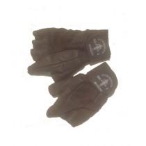 SJ fashion Leather Gloves For Men - Black