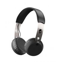 Skullcandy Grind Wireless On Ear Headphone Black/Chrome (S5GBW-J539)