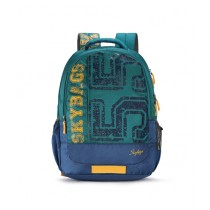 Skybags Bingo 01 School Backpack Green