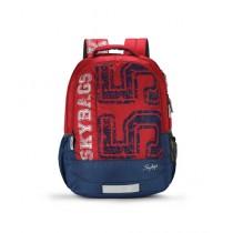 Skybags Bingo 01 School Backpack Red