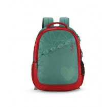 Skybags Bingo 02 School Backpack Green