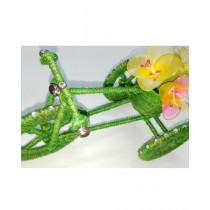 SM Products Flower Cart Bike With Stocking Flowers